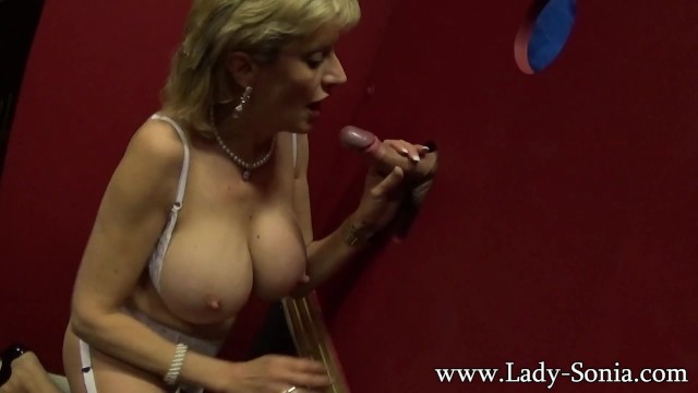 Free lady sonia glory hole videos