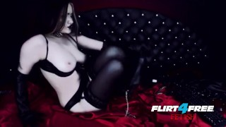 Goth Goddess Fucks Herself in Latex  alternative dominatrix bdsm submission goddess-worship latex-bondage masturbate goth kink webcam humilation mistress boot worship gothic-pussy flirt4freefetish
