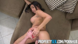 PropertySex - Landlord fucks new personal assistant  ass landlord bush big-cock point-of-view blowjob cumshot propertysex missionary tenant busty hardcore reality evicted facial doggystyle