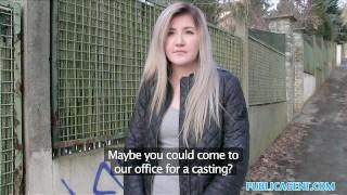 Public Agent Cute Russian loves sex for cash Bj latin
