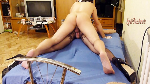 Spread eagle and fucked Painful anal pounding spread eagle bounded slave slut