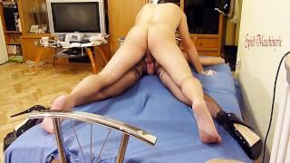 Painful anal pounding spread eagle bounded slave slut