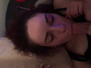 Cute Slut PAWG Innocence Choking,Getting Throatfucked&Cum Covered..Part:5