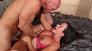 Ariella Ferrera and Johnny Sins Hardcore Big Tit Fucking