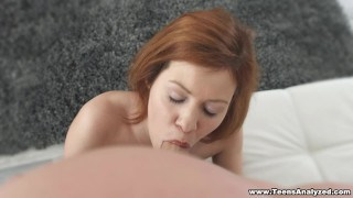 Teens Analyzed - Anal first-timer gets fucked Facial rocks