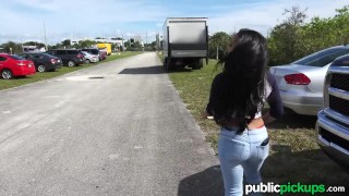 Mofos - Mixed Race Hottie's Public Pick-Up ass young amateur blowjob teen huge-cock shaved public-sex publicpickups big-tits huge-tits pov missionary mofos point-of-view teenager