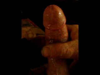 Rubbing one out/cumshot