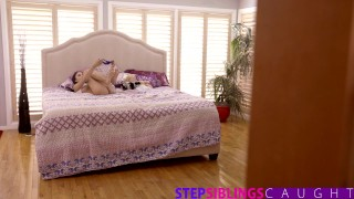 StepSiblingsCaught - Helping My Step Sister Ariana Marie Cum Brother hot