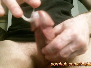 Starman X - Big cock covered in spit