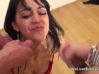 Vagina graph little petite brunette amateur taking cum loads to her face welovebukka