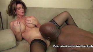 Mature Milf Deauxma Fucks Her Black Boss!