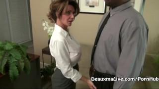 Mature Milf Deauxma Fucks Her Black Boss! Oral amateur