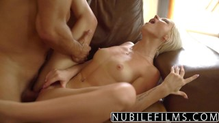 NubileFilms - Hot Sex With My Best Friends Daughter ass-licking nubilefilms young blonde babe shaved cumshot natural-tits outdoors big-dick skinny pussy-licking petite doggystyle facial zazie-skyrim