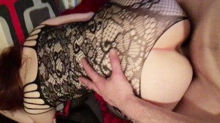Preview 6 of Sexy Young Amateur PAWG 'Innocence' In Lace Getting Fucked Hard From Behind