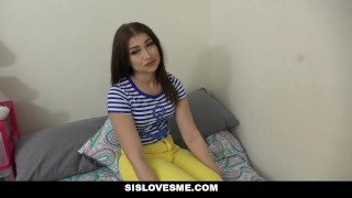 SisLovesMe - Afterschool Road-Head From Babysis  step sis step siblings point of view trimmed small tits pov brunette shaved sislovesme stepsis facialize facial step brother cum shot jennifer jacobs step sister