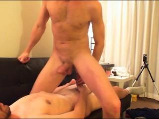 BI Bro Sex Strokin and suckin Hung Cock-prt4