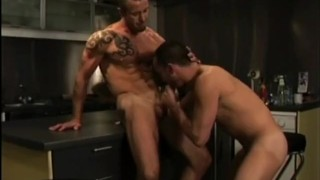 BAREBACK TATTOOED TOPS - Scene 3 Cock doggy