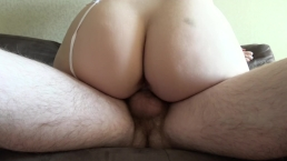 Cowgirl sex with big ass