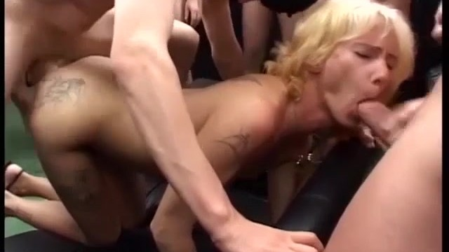 Extreme anal tube movies - My moms first gangbang orgy