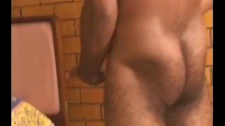 Hairy Studs Video Vol 4 - Scene 2 Tits interracial
