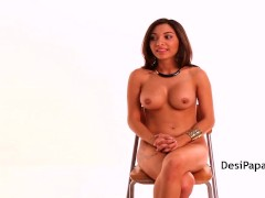 Srilankan Indian Babe Nude Giving Interview