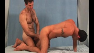Hairy Studs Video vol 1 - Scene 3 Kissing mature