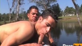 Muscle studs fuck twink holes - Scene 4