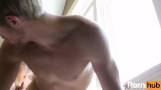 Ricky Roman Fucks Levi Michaels - Scene 1