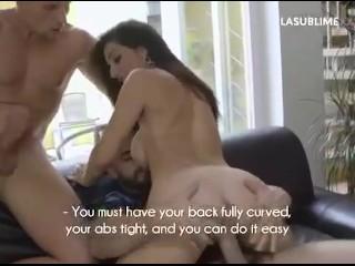Priscilla Salerno e le posizioni del sesso