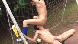 bareback soccer sluts - Scene 4