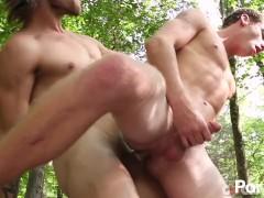 Tayte Hanson and Justin Matthews Flip Fuck - Scene 1