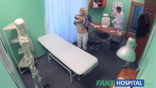 Fake Hospital Shy patient with soaking wet pussy squirts on docs fingers porno