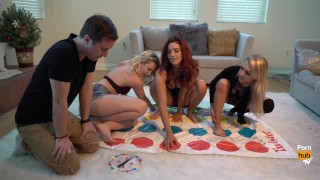 Pornstars Play Twister! With Alix Lynx, Jayden Cole and Samantha Rone Flash cameo