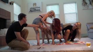 Pornstars Play Twister! With Alix Lynx, Jayden Cole and Samantha Rone porno