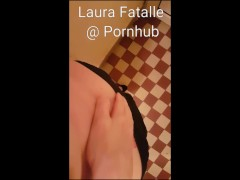 Hot step sister caught masturbating she's so horny