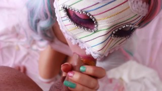 SECRETCRUSH - Candy Land || Teen Teases Ass Squirts Stuffs Ass With Sweets  teen squirt sexy innocent enema perky-tits fetish squirting kinky candy piss cute prolapse anal ass-squirt lollies