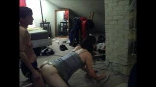 Hot Goddess Gives Predicament Strapon hardcore strap-on pegging wife-femdom femdom femdom-amateur ass-fuck predicament-bondage kink femdom-strapon strapon bdsm-predicament bdsm pegging-amateur femdom-pegging adult-toys petite