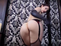Brookelynne Briar Slowly Strips And Teases You With Her Ass And Long Legs