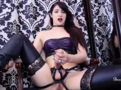 Babe Makes You Suck Her Dick As Punishment For Being A Messy Stroke Slut