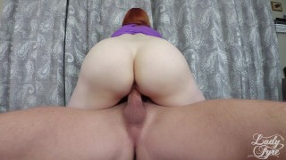 She came so hard she actually cried! Redhead milf softcore redhead close-up femdom milf bush hairy-pussy mom interupted mother lady-fyre cum-inside-me creampie crying orgasm laz-fyre doggystyle