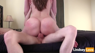 Hardcore Riding & Deep Creampie with LindseyLove porno