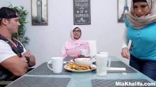 Big Tits Arab Pornstars Mia Khalifa and Julianna Vega Fuck Big Dick White D hijab mia callista latina taboo big tits mom mia khalifa pornstar big boobs mother threesome lebanese step mom julianna ega stepmom busty arab