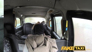 Fake Taxi Journalist gets exclusive fake news story from London taxi driver  news reporter british oral point-of-view blonde public pov fake camera faketaxi rimming spycam car dogging rough misha mayfair