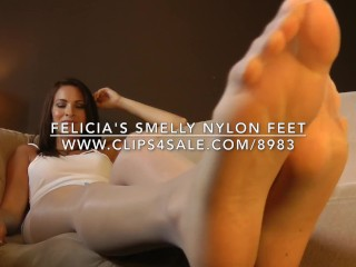 Felicia's Smelly Nylon Feet - www.c4s.com/8983/17156190
