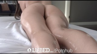 Up faye strokes petite cock brunette before lubed arielle fuck lubed brunette 4k
