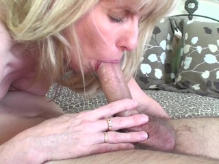 Tube8 Money 53 year old MILF Sucks and Fucks a 20 year old Young Fan