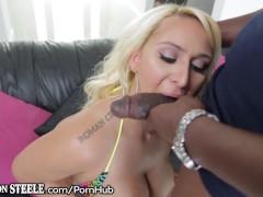 LexingtonSteele Nina Kayy Takes that Huge Black Cock