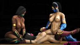 Lesbian SFM Video Game Compilation March 2017