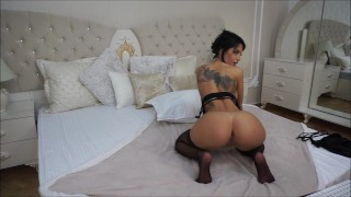 Anisyia LiveJasmin topless blowjob then painful anal