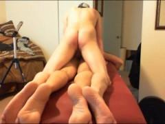 Dad Gets BB ANAL Massage-prt4
